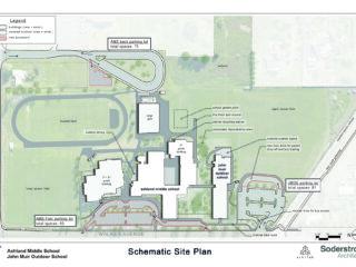 Ashland Middle School + John Muir Outdoor School - Ashland School District - Schematics